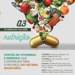 Reforçar o sistema imunitatio através da alimentação
